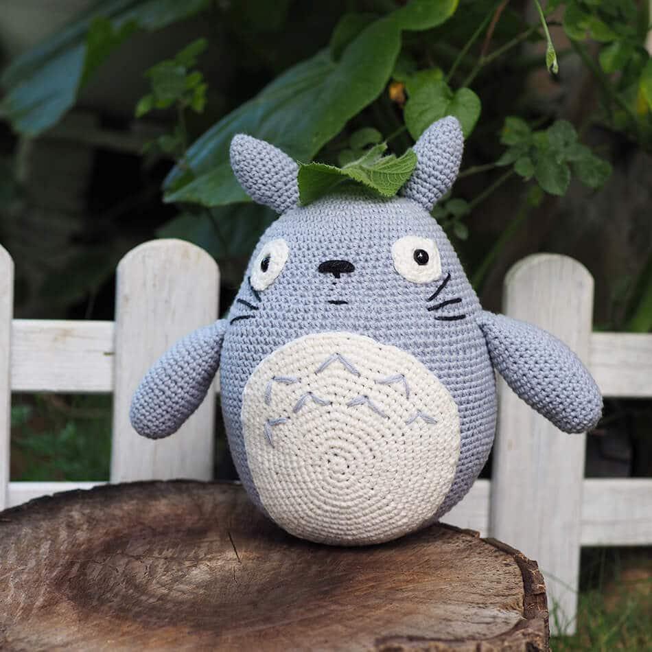 Totoro En Amigurumi : TOTORO Amigurumi Oyuncak - Ritzz